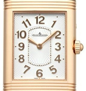 Jaeger Lecoultre Grande Reverso Lady Ultra Thin Duetto Duo Pink Gold 3302421 Kello