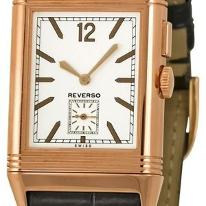 Jaeger Lecoultre Grande Reverso Ultra Thin Duoface Pink Gold 3782520 Kello