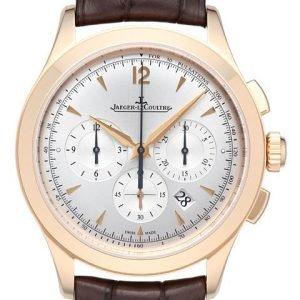 Jaeger Lecoultre Master Chronograph 1532420 Kello Hopea / Nahka