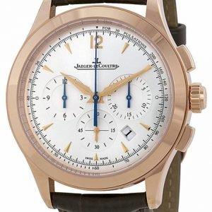 Jaeger Lecoultre Master Chronograph 1532520 Kello Hopea / Nahka