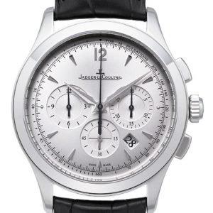Jaeger Lecoultre Master Chronograph 1538420 Kello Hopea / Nahka