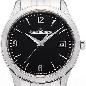 Jaeger Lecoultre Master Control 1548171 Kello Musta / Teräs