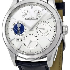 Jaeger Lecoultre Master Eight Days Perpetual Stainless Steel 1618420 Kello