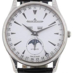 Jaeger Lecoultre Master Ultra Thin Calendar White Gold 1263520 Kello