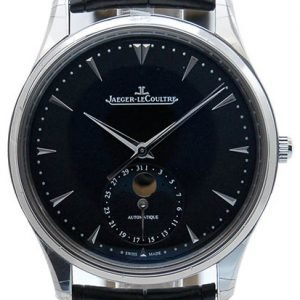 Jaeger Lecoultre Master Ultra Thin Moon Stainless Steel 1368470 Kello