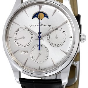 Jaeger Lecoultre Master Ultra Thin Perpetual Stainless Steel 130842j Kello