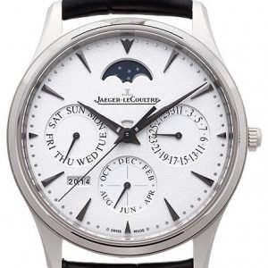 Jaeger Lecoultre Master Ultra Thin Perpetual White Gold 1303520 Kello