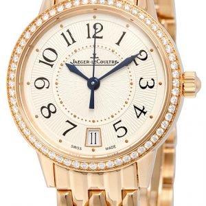 Jaeger Lecoultre Rendez-Vous Date Pink Gold 3512120 Kello