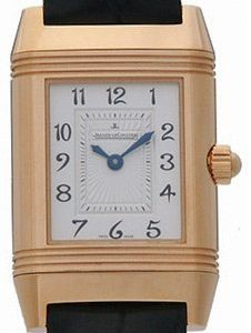Jaeger Lecoultre Reverso Duetto Pink Gold 2662420 Kello