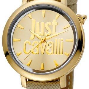 Just Cavalli Logo Jc1l007l0025 Kello Kullattu / Nahka