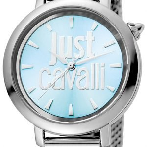 Just Cavalli Logo Jc1l007m0055 Kello Sininen / Teräs