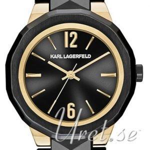 Karl Lagerfeld Joleigh Kl3401 Kello Musta / Teräs