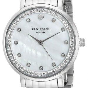 Kate Spade 1yru0820 Kello Valkoinen / Teräs