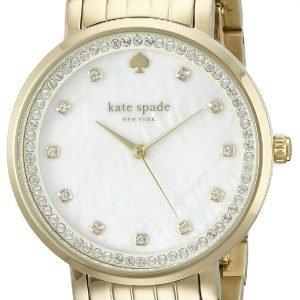Kate Spade 1yru0821 Kello Valkoinen / Kullansävytetty