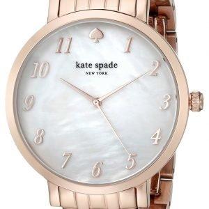 Kate Spade 1yru0850 Kello Valkoinen / Punakultasävyinen