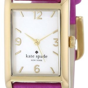 Kate Spade Cooper 1yru0244 Kello Valkoinen / Kullansävytetty