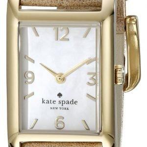 Kate Spade Cooper 1yru0246 Kello Valkoinen / Kullansävytetty