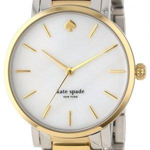 Kate Spade Gramercy 1yru0005 Kello Valkoinen / Kullansävytetty