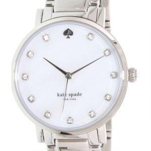 Kate Spade Gramercy 1yru0006 Kello Valkoinen / Teräs