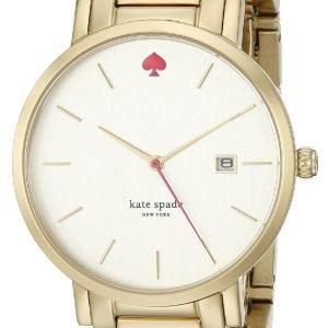 Kate Spade Gramercy 1yru0009 Kello Valkoinen / Kullansävytetty