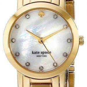 Kate Spade Gramercy 1yru0145 Kello Valkoinen / Kullansävytetty