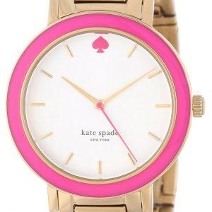 Kate Spade Gramercy 1yru0253 Kello Valkoinen / Kullansävytetty