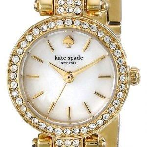 Kate Spade Gramercy 1yru0723 Kello Valkoinen / Kullansävytetty