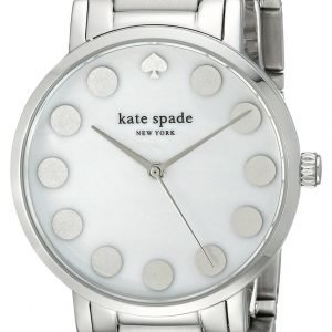 Kate Spade Gramercy 1yru0736 Kello Valkoinen / Teräs