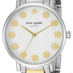 Kate Spade Gramercy 1yru0738 Kello Valkoinen / Kullansävytetty