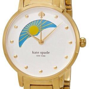 Kate Spade Gramercy Ksw1072 Kello Valkoinen / Kullansävytetty