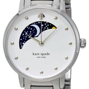 Kate Spade Gramercy Ksw1075 Kello Valkoinen / Teräs