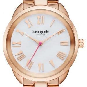 Kate Spade Ksw1091 Kello Valkoinen / Punakultasävyinen