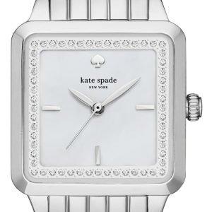 Kate Spade Ksw1114 Kello Valkoinen / Teräs