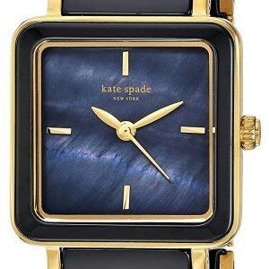 Kate Spade Ksw1203 Kello Sininen / Kullansävytetty Teräs