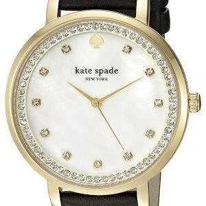 Kate Spade Ksw1206 Kello Valkoinen / Nahka