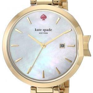 Kate Spade Ksw1266 Kello Valkoinen / Kullansävytetty