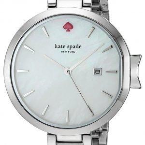 Kate Spade Ksw1267 Kello Valkoinen / Teräs