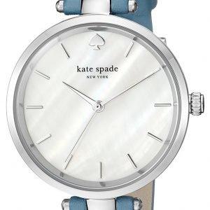 Kate Spade Ksw1282 Kello Valkoinen / Nahka