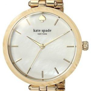Kate Spade Ksw1331 Kello Valkoinen / Kullansävytetty