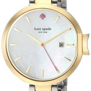 Kate Spade Ksw1338 Kello Valkoinen / Kullansävytetty
