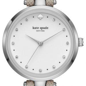 Kate Spade Ksw1357 Kello Valkoinen / Nahka