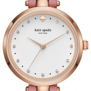 Kate Spade Ksw1358 Kello Valkoinen / Nahka