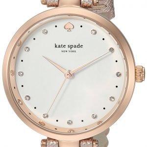 Kate Spade Ksw1402 Kello Valkoinen / Nahka
