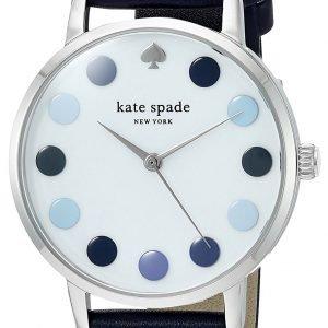 Kate Spade Metro Ksw1173 Kello Valkoinen / Nahka