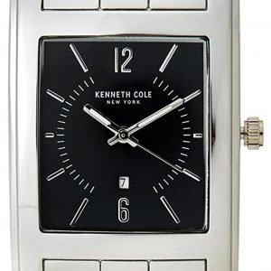 Kenneth Cole 10031326 Kello Musta / Teräs