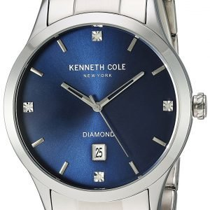 Kenneth Cole Diamond 10030778 Kello Sininen / Teräs
