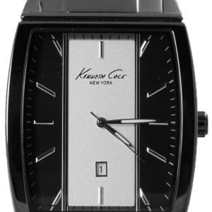 Kenneth Cole Dress Kc9097 Kello Musta / Teräs