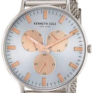 Kenneth Cole Fashion 10031469 Kello Hopea / Teräs