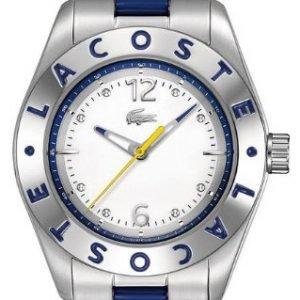 Lacoste 2000752 Kello Valkoinen / Teräs