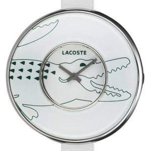 Lacoste Club 2000543 Kello Valkoinen / Nahka